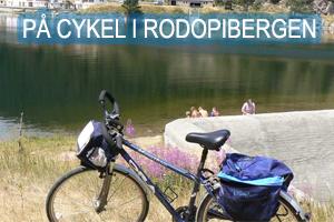 På cykel i Rodopibergen